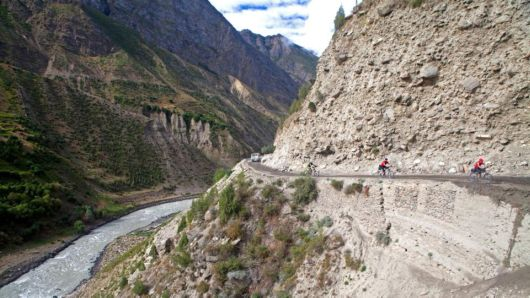 Himalayan Highway Cycling In Northwest India