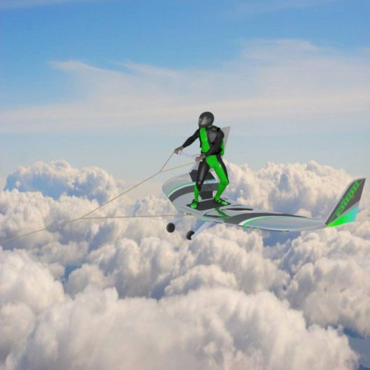 Wingboarding - The Future Extreme Aerial Sport