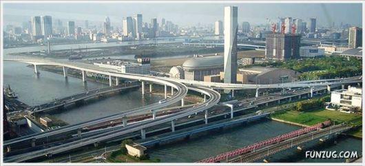 Fantastic Japanese Road Junctions