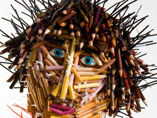 Creative Pencil People Art
