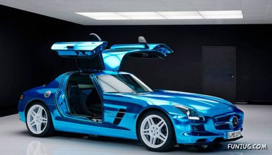 The Most Powerful Electric Car By Mercedes