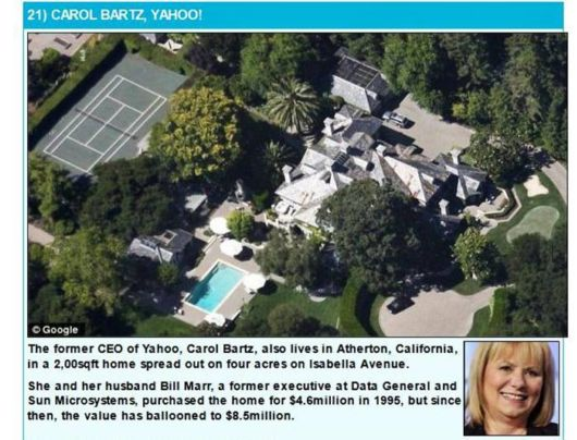 The Homes Of Famous Tech Titans