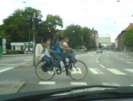 Crazy Bikes And Crazy People Riding Bikes