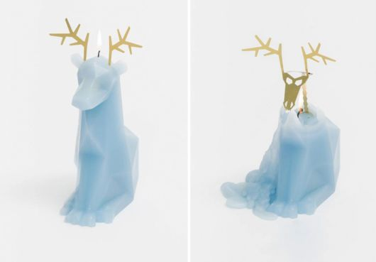 Beautiful Candles Reveal Hidden Skeletons When They Melt
