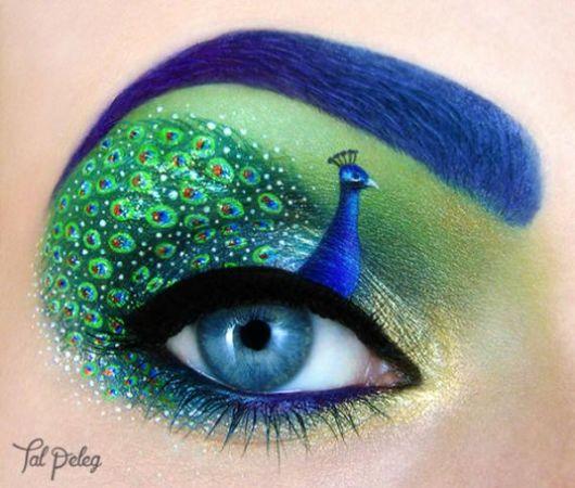 Wonderful Creative Eye Art Makeup Designs