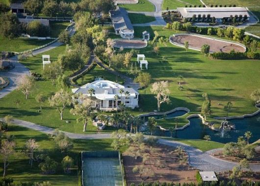 Las Vegas Mansion With Its Own Airport