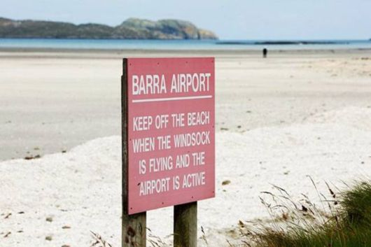 Airport On The Island Of Barra