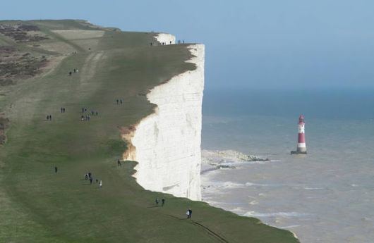 The Beachy Head Suicide Rock