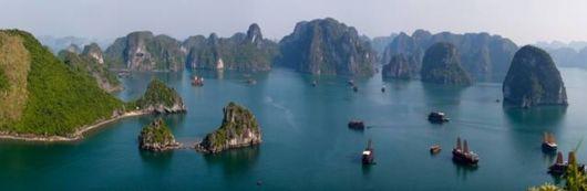 The Ha Long Bay, Vietnam