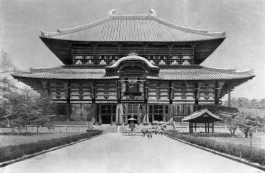 Todaiji - A Great Eastern Temple In Japan