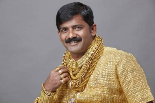 Datta Phuge And His Golden Shirt