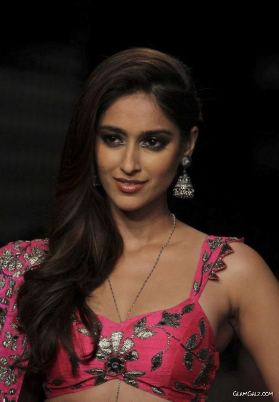Ileana D'Cruz Ramp Walks At Lakme Winter Festive