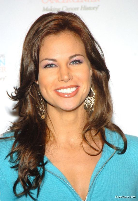 Brooke Burns At Annual Gridiron