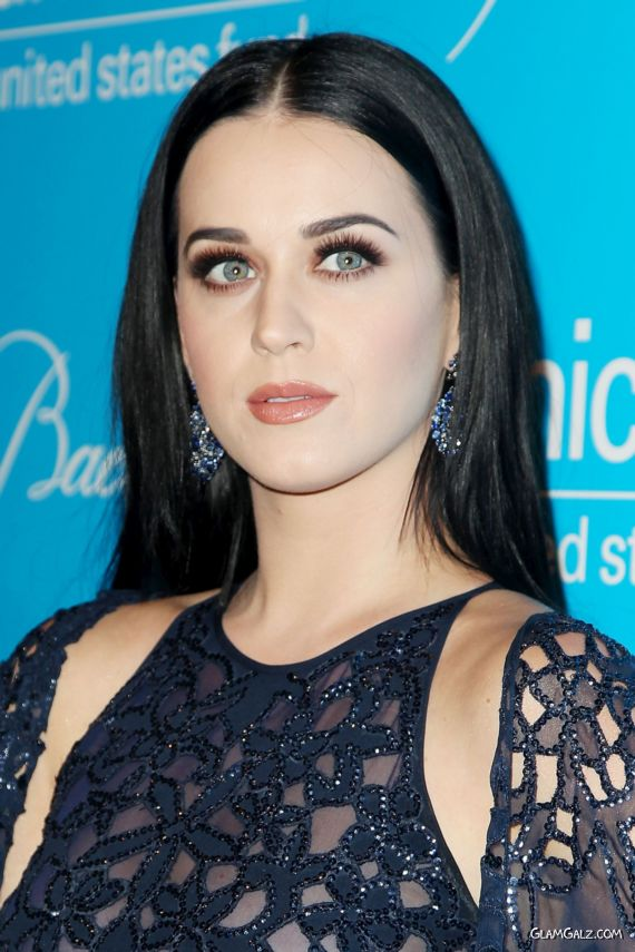 Beautiful Katy Perry Graces Up The Snowflake Ball
