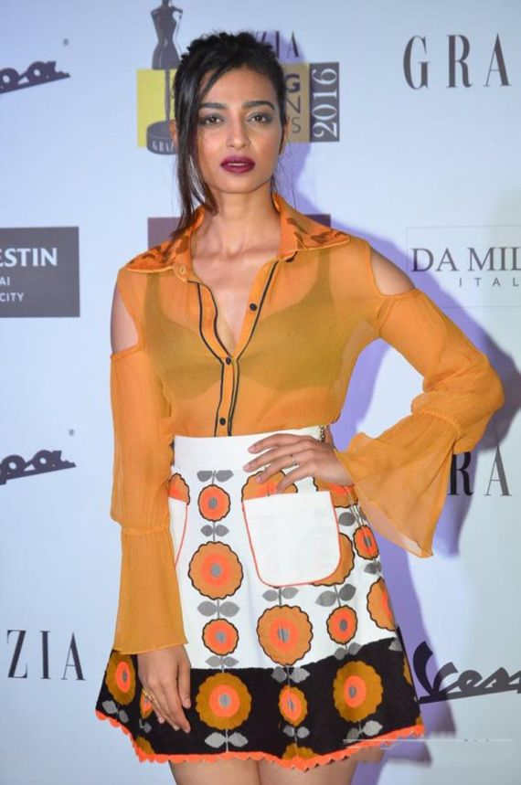 Radhika Apte Attends Grazia Awards 2016