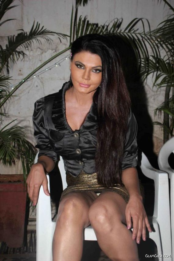Rakhi Sawant At A Music Album Launch