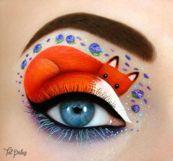 Wonderful Creative Eye Art Makeup Designs