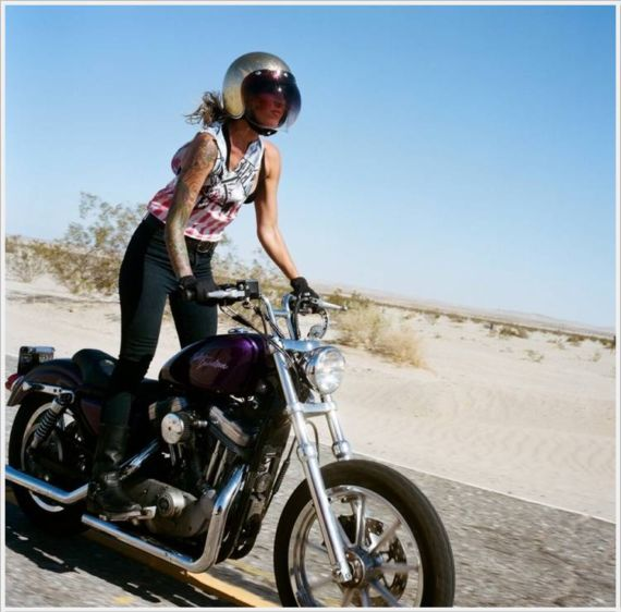 Awesome Biker Galz