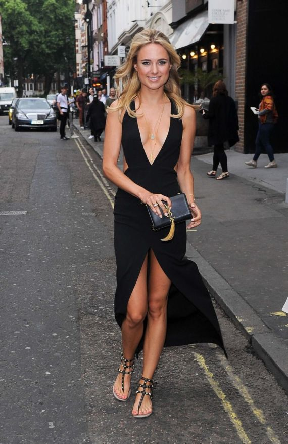 Kimberley Garner At A Fashion Show In London