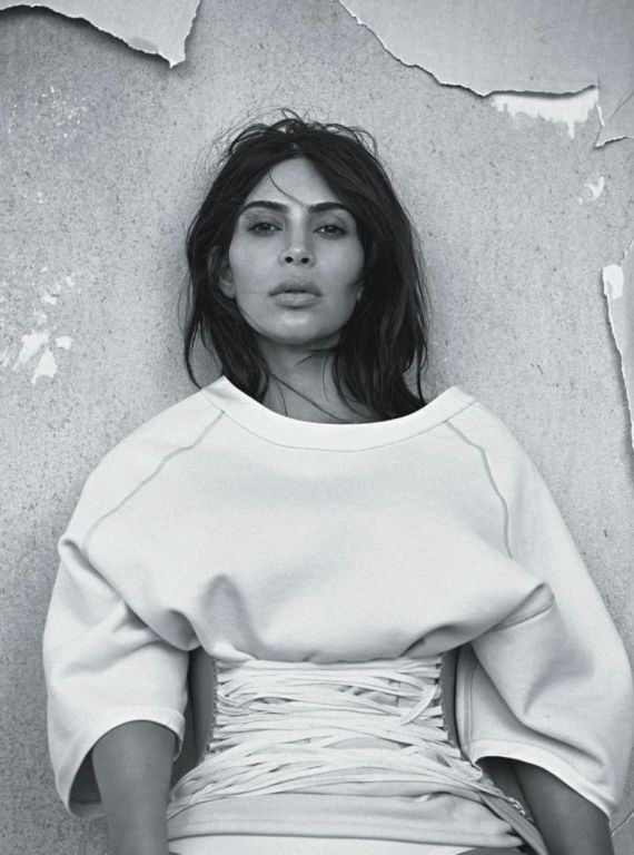 Kim Kardashian For Vogue Australia Magazine