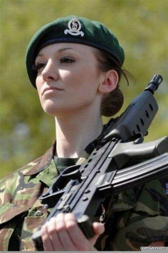 Katrina Hodge - The Combat Barbie Of UK