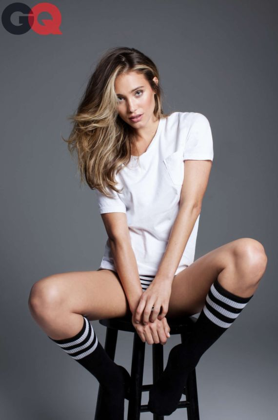 Gorgeous Hannah Davis GQ Photoshoot