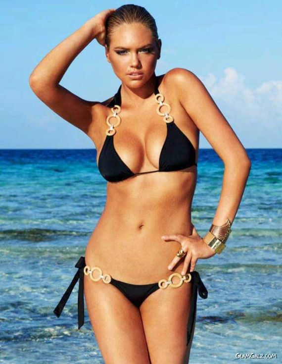 Kate Upton Exclusive Beach Photoshoot