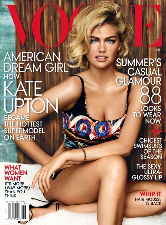 Kate Upton For Vogue UK