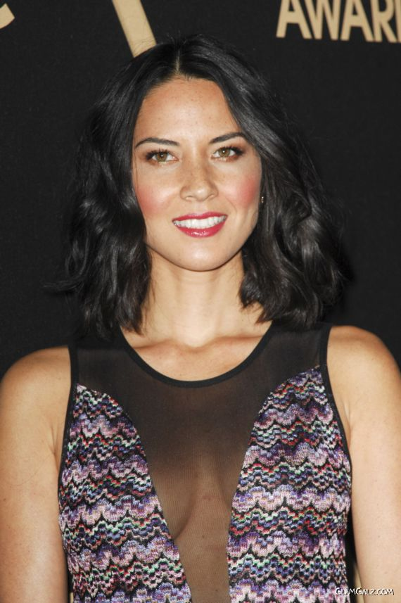 Olivia Munn At The Miss Golden Globe Party