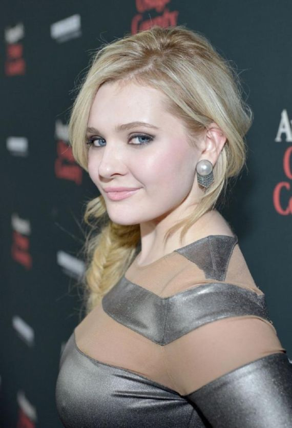 Abigail Breslin At August Osage County Premiere
