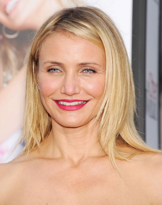 Cameron Diaz At The Other Woman Premiere