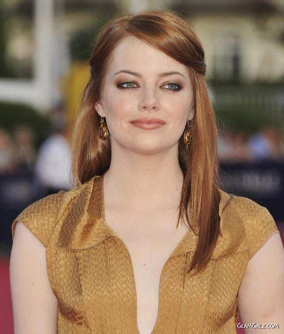 Emma Stone At The Help Movie Screening