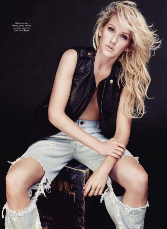 Ellie Goulding In Marie Claire UK Mag