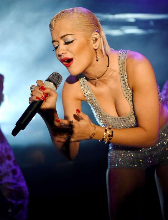 Rita Ora At Bush Empire In London