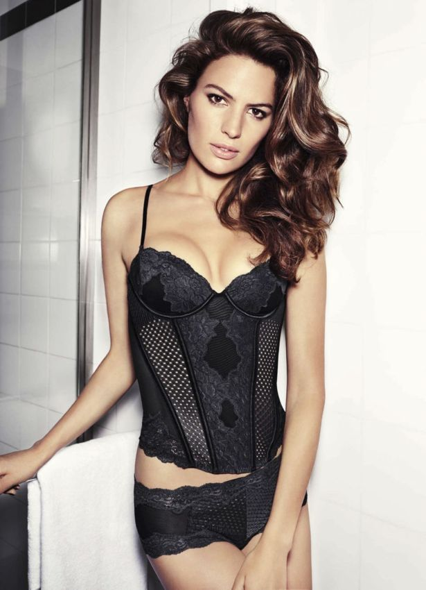Cameron Russell For H M Collection