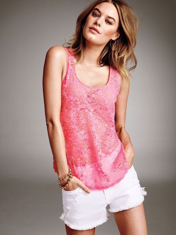 Camille Rowe Photographed for VS 2014
