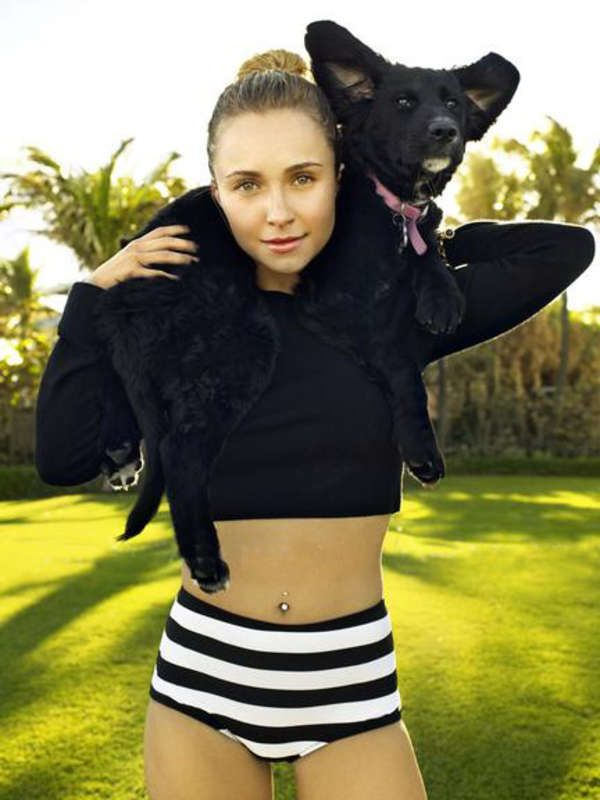 Hayden Panettiere Shoot For Glamour