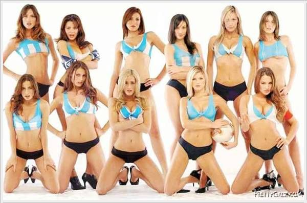 Hottest Soccer Players Photoshoot