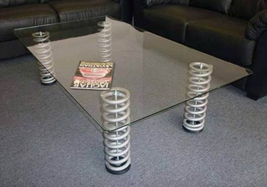 Brilliant Furniture Made From Recycled Car Parts