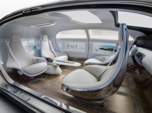 The Futuristic Self Driving Car From Mercedez Benz